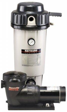 Hayward EC50C92STL Perflex 1 HP D.E. Filter Pump System , Twist Lock Cord