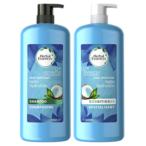 Herbal Essences, Shampoo and Sulfate Free Conditioner Kit, Hello Hydration Moisturizing, 33.8 fl oz, Kit