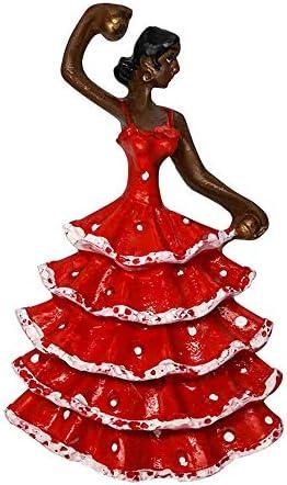 Bailarina de Flamenco, España 3D Imanes para Refrigerador Imán de Nevera Viaje Souvenir Decoración del Hogar (Rojo): Amazon.es: Hogar