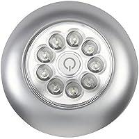 Light It por Fulcrum LED llave Luz, 7 x 5.5x 0.9, Plateado