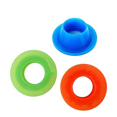 PYD Juego de tapones para sellado de tuberías, control de plagas, antiolores, para lavadora, piscina, desagüe, tapón de...