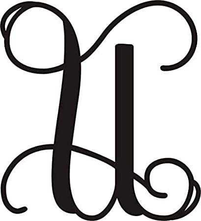 Amazon Ajd Designs Single Letter U Monogram 20 Inches Wedding