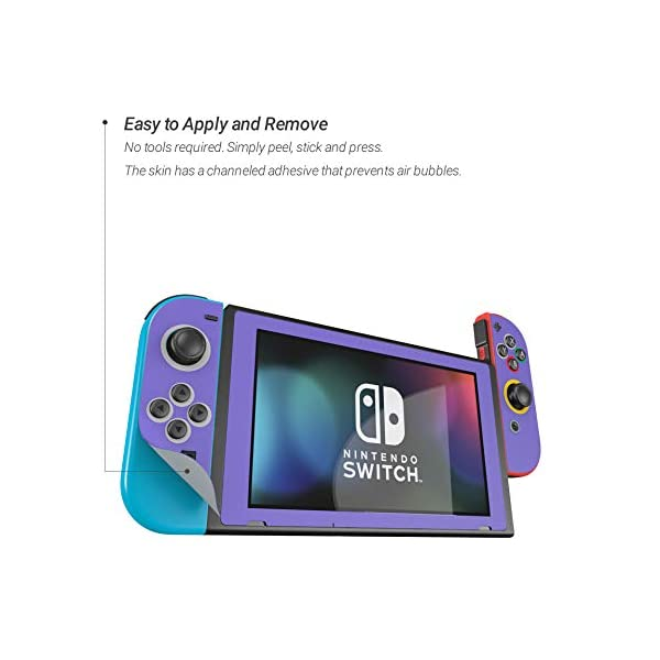 Cubed - Decal Sticker Wrap - Compatible with Nintendo Switch 3
