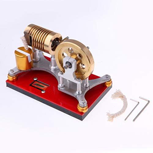 Fityle 300-500RPM Flame Licker Eater Flywheel Stirling Engine Motor Generator Science Kits by Fityle (Image #6)