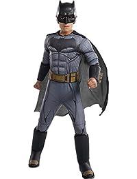 Costume Boys Justice League Deluxe Batman Costume, Large,...