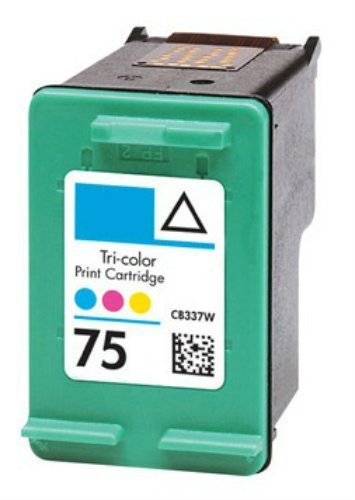 HouseOfToners Remanufactured Ink Cartridge Replacement for HP 75 CB337WN (1 Color)