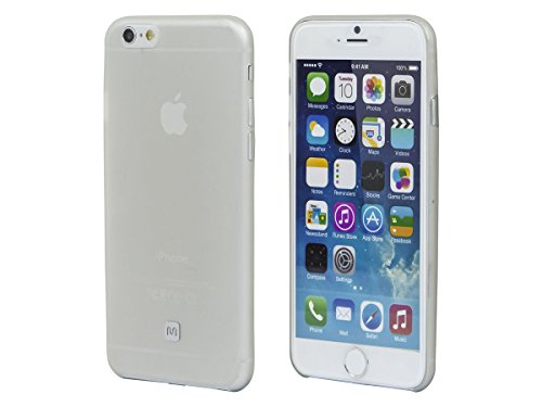 Monoprice Cell Phone Case for iPhone6/6S - Non-Retail Packaging - Clear Frost