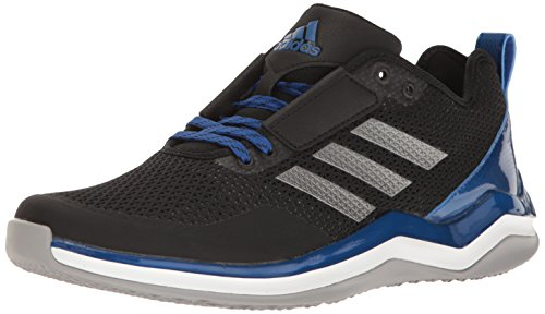 adidas Performance Men's Speed Trainer 3.0, Core Black, Iron Met, Collegiate Royal, 10.5 M US (Shoes Baseball Coaches)