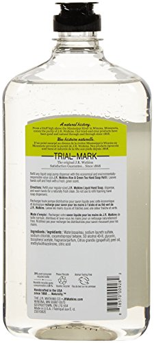 J.R. Watkins Aloe and Green Tea Liquid Hand Soap Refill, 24 Ounce by J.R. Watkins (Image #1)