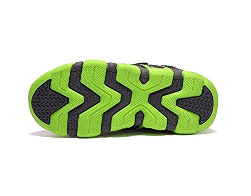 Unisex Zapatos deportivos Zapatos antideslizantes moda de los niños al aire libre casual Cuatro colores Verde