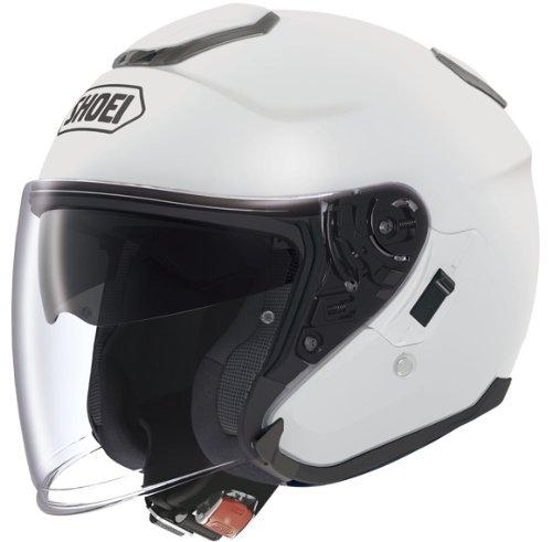 SHOEI J-Cruise Plain weiß Motorradhelm