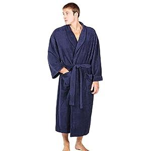 Texere Men's Luxury Terry Cloth Bathrobe (EcoComfort)