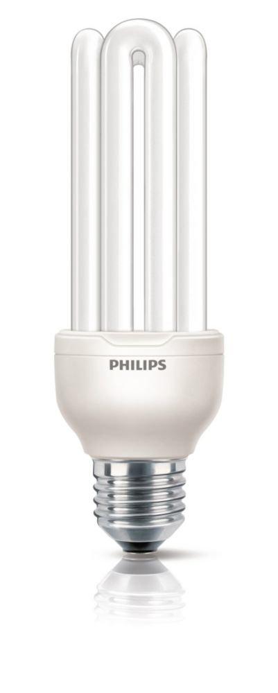 Philips Bombilla de Tubo de bajo Consumo 872790090292100 E27, 23 W, Color Blanco, 15.2x4.1x15.2 cm Genie