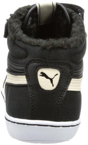 white 02 Femme Schwarz Swan black top Wn's Puma Avila Fur High Noir Mid vqwZFgSf