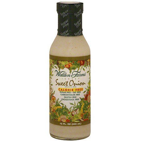 Walden Farms Jersey Sweet Onion Dressing 12oz(Pack of 2)