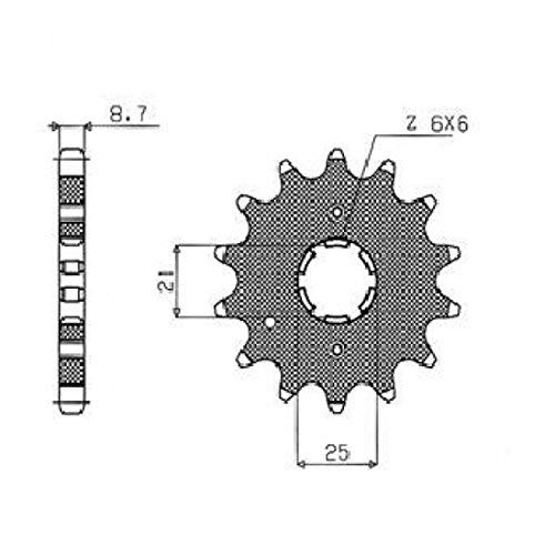 スプロケット C/S SPROCKET 530 15T50415 型番 : 50415  B01AO92FGI