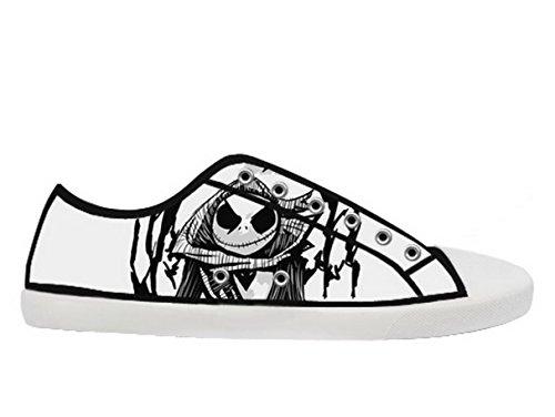 Et Førjulsmareritt Logo Ladys Sklisikker Canvas Sko Tnbc Lerret Shoes26