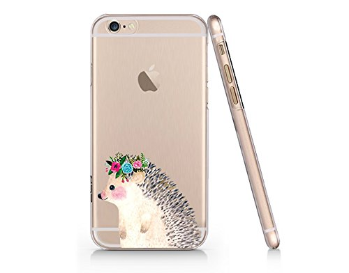 Amazoncom Hedgehog Slim Iphone 6 6s Case Clear Iphone Hard Cover