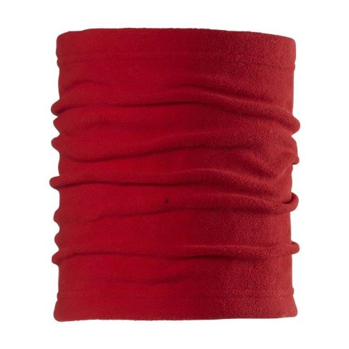 Chaos Drake Fleece Neck Gaiter, Red, One Size