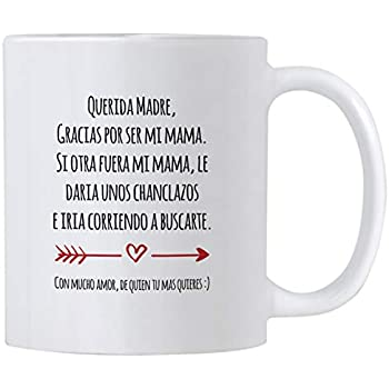 Casitika Regalo Para Mama de Dia de Madres o Cumpleanos. Funny Gift Ideas in Spanish for Mothers Day or Birthday. 11 oz Latin Mom Mug. Taza para Cafe ...