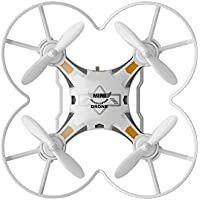 lifepot Hiinst 124 RC Mini Quadcopter 2.4G Remote Control RTF 4CH 6-Axis Gyro Pocket Drone Toys for Children (White)