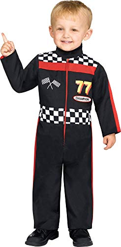 Fun World Boys Race Car Driver Toddler Costume,