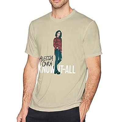 BE-AUTIFUL Alessia Cara Man Funny Short Sleeve T-Shirt Natural