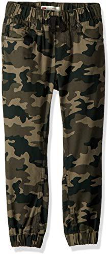- Levi's Boys' Big Chino Jogger Pants, Green camo, L