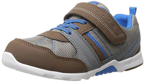 Tsukihoshi Child 52 Fashion Sneaker , Brown/Blue, 8.5 M US T