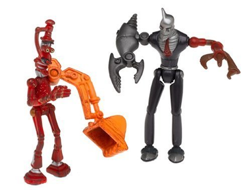 Fender and Ratchet Action Figure Mix 'N' Match Playset - 2004 Robots Movie ()