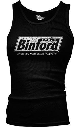 Price comparison product image Binford - Tools Handyman Girls / Juniors Tank Top T-shirt (Small, BLACK)
