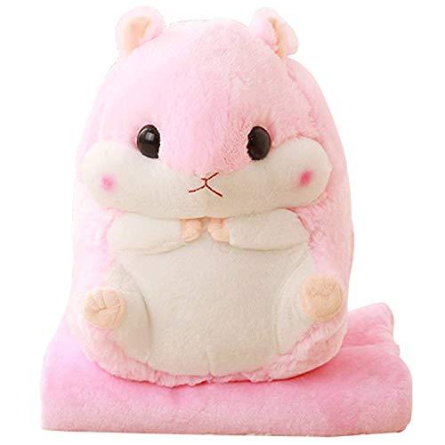 Kosbon 3 in 1 Cute Hamster Plush Stuffed Animal