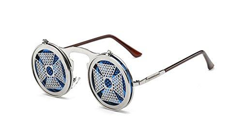 style hommes de soleil flip de pour lunettes gothique C8 Lunettes soleil vintage femmes de lens et tnqagtpH