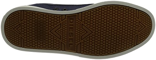 Diesel Uomo Fashionisto S-groove Low Fashion Sneaker Medievale Blu / Cuoio