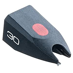 Ortofon 30 - Aguja diamante de recambio para cartucho Ortofon OM-30