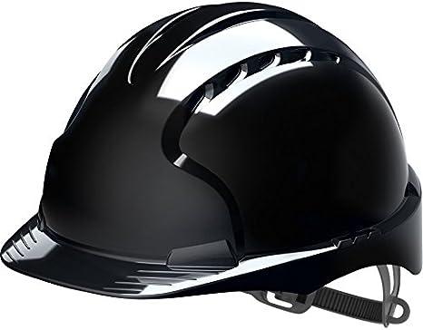 JSP EVO2 – ajustable casco de seguridad, color negro: Amazon.es: Bricolaje y herramientas