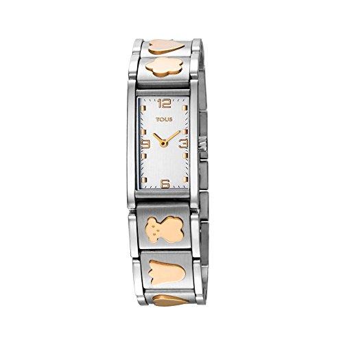 Reloj Tous de Mujer Totem Acero Dorado Bicolor 800350435: Amazon.es: Relojes