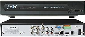 CIB 4CH J960H04N1000G7652 960H HDMI 1080P Output 120FPS Real Time Network Security Surveillance DVR 1000GB HDD Four EFFIO CCD 800TVL Bullet Cameras KIT from CIB Security