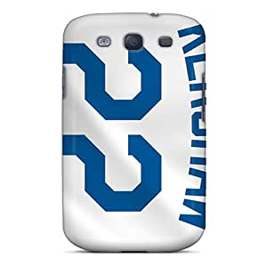 High Quality Hard Phone Cover For Galaxy S3 (oHa21008xAbh) Allow Personal Design Beautiful Los Angeles Dodgers Pictures
