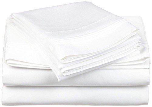 Top Selling Egyptian Cotton 500-Thread-Count (Full Size) 4-Piece Sheet Set Fits Upto 7