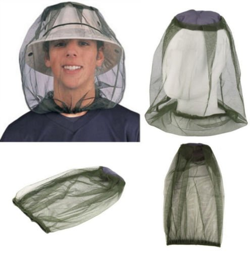 Pan Basic Fry Essentials (NPLE--Face Protector Mesh Camping Net Midge Hat Travel HOT Head Insect Mosquito Bug)