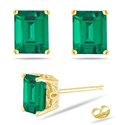 9x7mm Emerald - 7