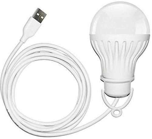 DPROQ USB LED 9W Bulb with 1 MTR Length Cable