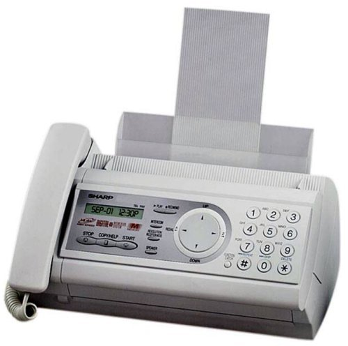 Ux P200 Sharp - Sharp UX-P200 Plain Paper Fax with ez Navigation, 50 Sheet Paper Tray