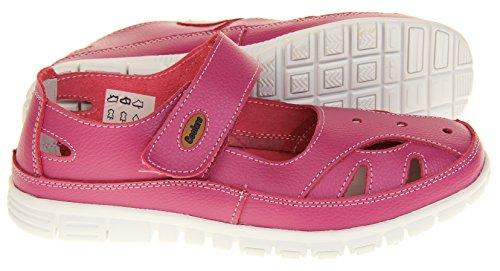 Merceditas Fruits by Rosado Mujer Cuero para Coolers Summer Zapatos Sandalias SCFfpq