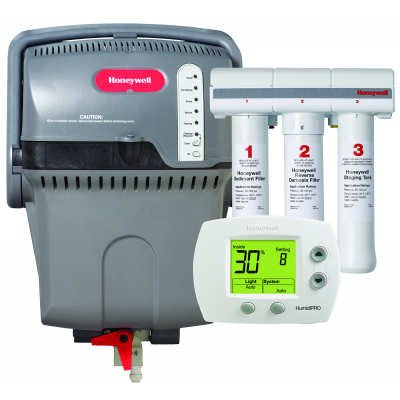 Honeywell TrueSTEAM Humidification System with HumidiPRO and RO Filter Kit - Color - H6062A1000/U YHM512-c2