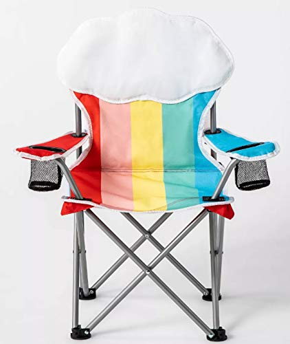 Kid Folding Camp Chairs With Carrying Bag.Sun Squad Kids Beach Chair Foldable Children S Chair For Camping Tailgates And Outdoor Events Kids Folding Chair With Handy Cup Holder And