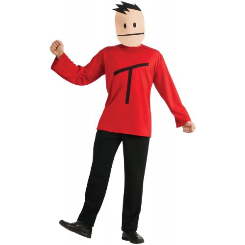 RUBIES COSTUME COMPANY South Park Terrance Costume  Red  One Size -