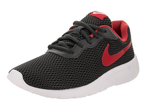 Nike Kids Tanjun Se  Gs  Anthracite University Red Running Shoe 4 Kids Us