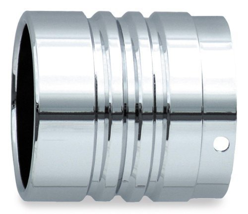 Rush Exhaust Performance Muffler Tip - Straight End w/Double Groove 4002 by (Rush Performance Tips)